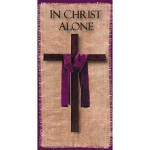 In Christ Alone Church Banner