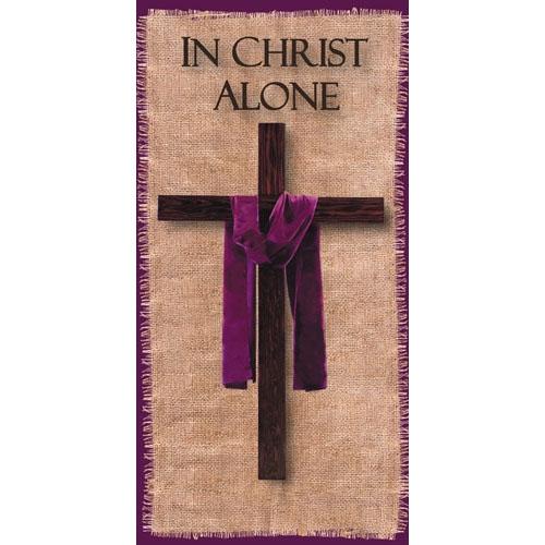 In Christ Alone Church Banner
