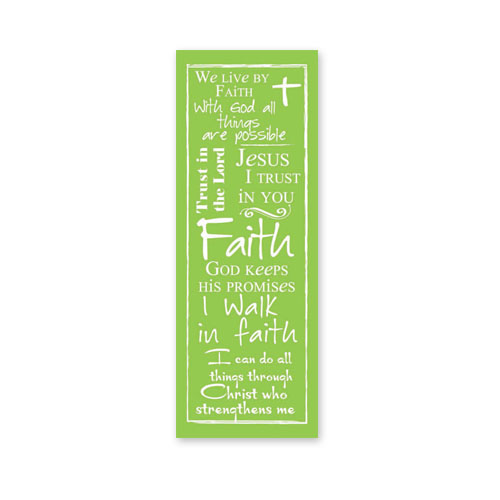 Written Reflections Scripture Church Banner