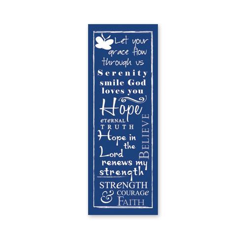 Written Reflections Hope Scripture Church Banner