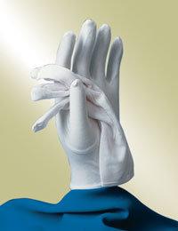 ladies white church gloves