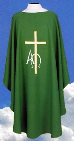Alpha Omega Cross Deacon Dalmatics