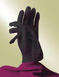 ladies black church gloves