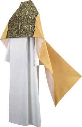 Clergy Humeral Veil Gold with Tapestry