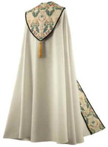 Cream Tapestry Bishop Clergy Cope
