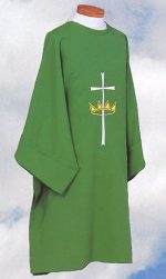 Cross and Crown Clergy Deacon Dalmatics