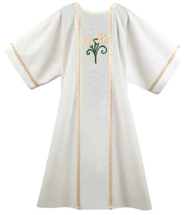 Easter Lillies Deacon Dalmatic