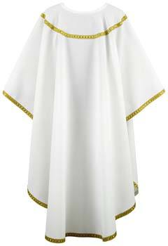 Gold Trim Clergy Chasuble Vestment