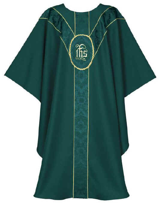 IHS Clergy Chasuble Vestment