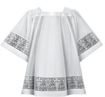 IHS Lace Clergy Surplice