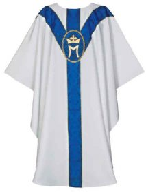 Marian Chasuble Vestment
