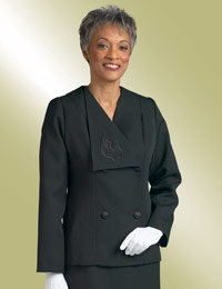 ladies clergy church jacket