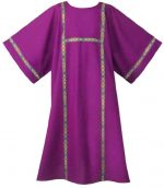 Purple Deacon Dalmatic Robe