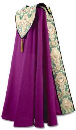 Royal Purple Tapestry Bishop Clergy Cope