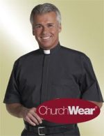 mens short sleeve clergy shirt