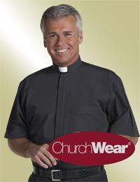 mens short sleeve clergy shirt