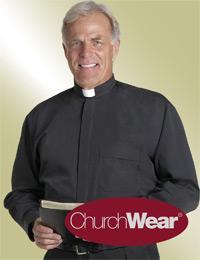 mens black long sleeve tab collar shirt