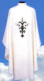 iEaster Lillies Clergy Chasubles Vestment