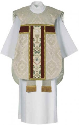 ordination tapestry Fiddle Back Chasuble